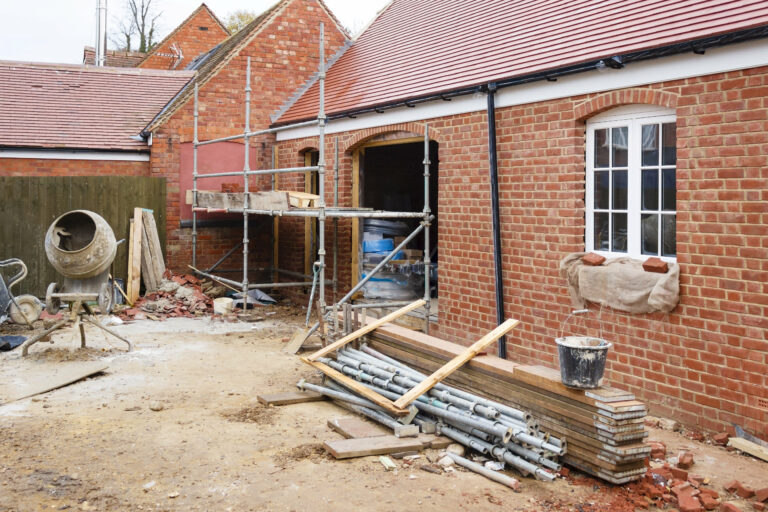 building works for house extension