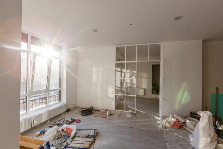 renovation work in progress